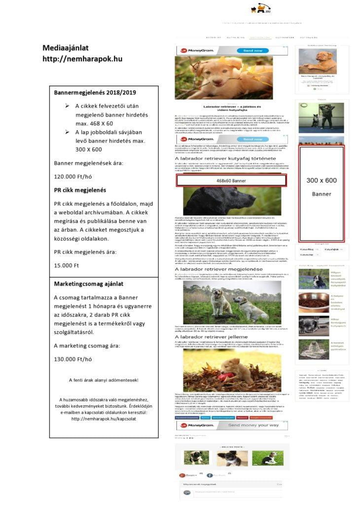 Mediajanlat page0001 724x1024 - Médiaajánlat